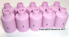 Lot de 10 Nº 5 gaz Lentille De Soudage Buses pour WP17, WP18 & WP26 Torche TIG