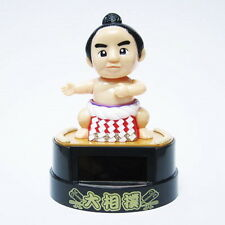 Solar Charge Battery Japanese Sumo Wrestler figure from Japan New