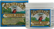 Witch Hazel Cleansing Pads, Humphreys Homeopathic Remedies, 60 Pads