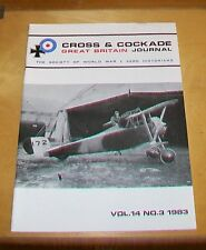 CROSS & COCKADE GREAT BRITAIN JOURNAL VOL 14  No 3 1983 27SQN RICHTOFEN BUSK