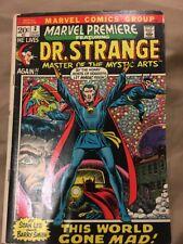 Marvel Premiere featuring Dr. Strange  #3 (July 1972)  Dr. Strange Begins