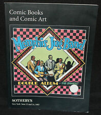 Sotheby's Comic Books and Comic Art Auction Catalog (F/VF) 6/13 & 614 1994