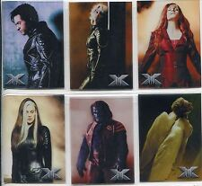 X Men 3 The Final Stand Complete Take A Stand Chase Card Set T1-6