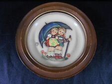 M.I. Hummel Goebel Anniversary Plate 1975 Stormy Weather #280 First Edition