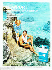 PUBLICITE ADVERTISING 056  1964  Newport  cigarettes menthe
