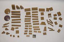 Lego Parts Dark Tan Misc Mixed LOT 71   #LX447