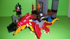 Lego Duplo Ritterburg 4776 Drachenturm,Roter Drache,Ritter,