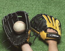 Sportime Yeller Youth Left-Handed Thrower Baseball Glove, Ages 7 to 10