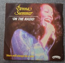 Donna Summer, on the radio / there will always be a you, SP - 45 tours
