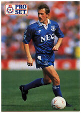 Robert Warzycha Everton #266 Pro Set Football 1991-2 Trade Card (C364)