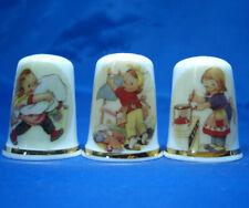 Birchcroft Thimbles -- Set of Three - Lucie Attwell Children
