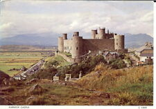 Wales: Harlech Castle - Posted 1980