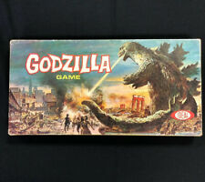 1963 IDEAL TOYS GODZILLA MONSTER BOARD GAME in BOX 100% COMPLETE