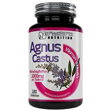 Mönchspfeffer 180 Tabletten je 1000mg Menopause Hitzewallungen Agnus Castus