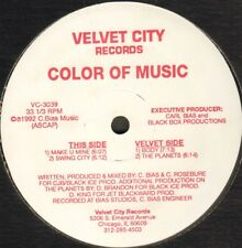 Couleur Of Music – Make U Mine EP - Velvet City Records -VC 3039 - Usa 1992