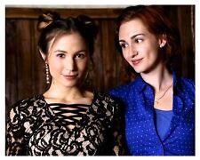"WYNONNA EARP *(Waverly)""Dominique Provost-Chalkley"" & Nicole 8x10 Glossy Print"