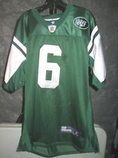 New York Jets NFL Reebok Green Mark Sanchez #6 size 52 Football Jersey