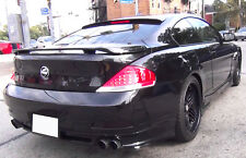 BMW 6 SERIES E63 BOOT SPOILER ( 2003-2010 )