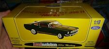 JOUEF EVOLUTION 1965 FORD MUSTANG SHELBY 350GT BLACK W/GOLD STRIPES 1/18 HERTZ