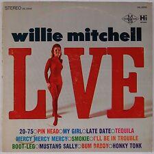 WILLIE MITCHELL: Live USA HI Funk Soul Stereo Vinyl LP HEAR