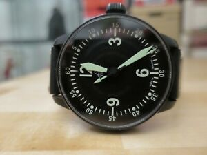 Laco Bell X-1 automatic 42mm pilot watch - rare first edition model