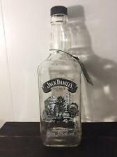 Jack Daniels Scenes Of Lynchburg #2 Bottle -Barrel Truck EMPTY-750ml