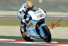 Esteve Tito RABAT Signed Photo 2 AFTAL Autograph COA MOTOGP Former Moto2 Champ