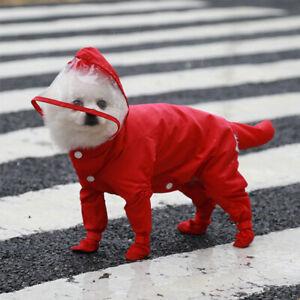 Dog One-piece Raincoat Universal All-inclusive Raincoats Waterproof Breathable