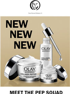 Olay Regenerist Collagen Peptide 24 Face Moisturizer - SERUM - EYE Cream