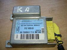 FORD KA 96-08 / FIESTA AIRBAG ECU CONTROL MODULE - 97KG14B056BB