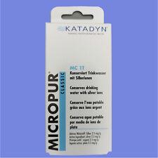KATADYN Micropur MC t1 acqua potabile conservazione trattamento delle acque 100 compresse