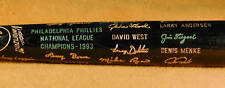 1993 Philadelphia Phillies World Series Black Bat MINT
