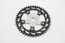 RALEIGH BURNER OLD SCHOOL BMX DETACHABLE 44T CHAINRING BLACK/CP REDUCED C1304BK