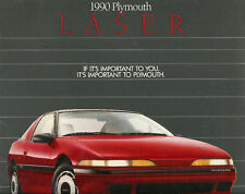 1990 Plymouth LASER Brochure/Catalog: RS,TURBO
