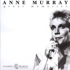 Anne Murray: Great Memories (New CD)