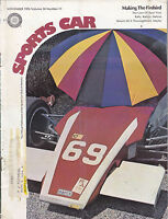 NOV 1976 SPORTSCAR SCCA vintage car magazine