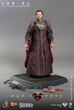 "Jor-El Superman Russell Crowe Man Of Steel DC Comics 12"" Figur MMS201 Hot Toys"