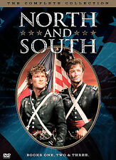 North and South - The Complete Collection (DVD, 2004, 5-Disc Set)