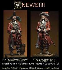 Best Soldiers The Arrogant Pirate Buccaneer 75mm Model Unpainted Metal Kit