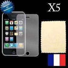 5 Films de protection écran iphone 3G 3GS