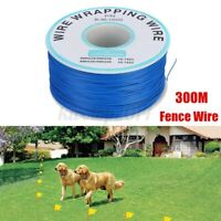 300M Wire Cable For Pet Walking training Fence Dog nder ground Electric