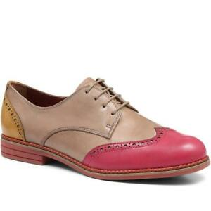 Tamaris Real Leather 3 Coloured Wing Tipped Brogue Shoes Size 6 39 BNIB