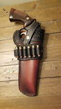 Custom cowboy Holster - Smith And Wesson K frame model 19 ..& 686  6inch barrel