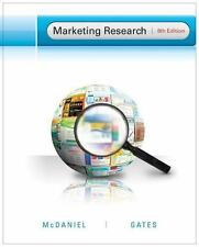 Marketing Research by Roger Gates and Carl, Jr. McDaniel (2011, Hardcover)