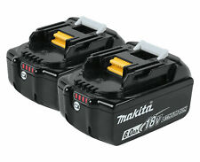 Makita BL1860B2 18V Lithium-Ion Battery with Fuel Gauge