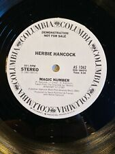 Herbie Hancock - Magic Number - Everybody's Broke - 12 Inch Vinyl Record - Promo