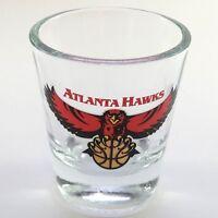 Atlanta Hawks Shot Glass Basketball Collectible Preowned