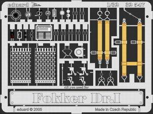 Eduard 1/32 Fokker Dr.I Detail (Roden) 32547