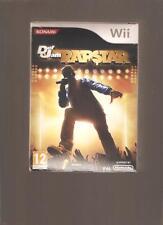 Rare !!! DEF JAM RAPSTAR : Coffret Jeu + Micro. Culte sur Wii/Wiiu. NEUF Blister