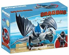 Playmobil 9248 Drago and Thunderclaw How to Train Your Dragon